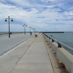 Photo taken at White Street Pier by Ozlem T. on 9/15/2012