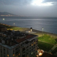 Photo taken at Ege Palas Business Hotel by ÇAPULCU A. on 3/21/2013