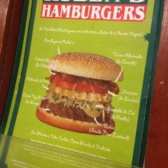 Photo taken at Ruben's Hamburgers by Sandra S. on 11/22/2012
