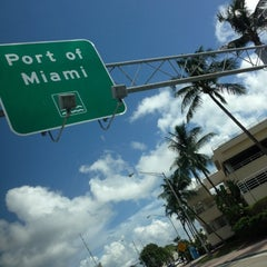Photo taken at Port of Miami by Jeff V. on 9/28/2012
