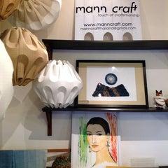 Photo taken at Mann Craft ( Art & Desingn ) by Khun G. on 2/9/2013