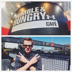 Photo taken at Humble & Hungry Cafe by Ryan B. on 9/4/2013