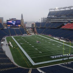 Photo taken at Gillette Stadium by Mike P. on 1/13/2013