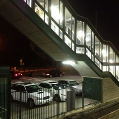Photo taken at Metro North - Hawthorne Train Station by Trish C. on 10/1/2013