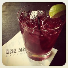 Photo taken at One Market Restaurant by Dana on 10/10/2012