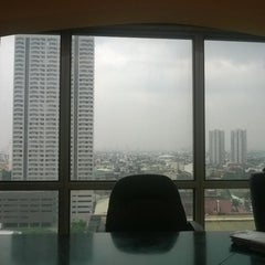 Photo taken at Burgundy Corporate Tower by Raymond M. on 11/5/2014