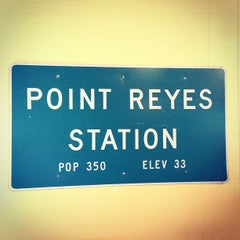 Photo taken at Point Reyes Station Post Office by Sara O. on 4/20/2013
