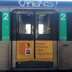 Photo taken at Gare SNCF de Nice Saint-Augustin by Ruslan F. on 9/26/2014