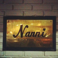 Photo taken at Nanni's Restaurant by Alvin Y. on 10/7/2012