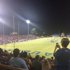 Photo taken at Duck Samford Stadium by Derya K. on 8/30/2014