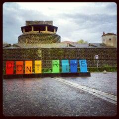 Photo taken at Fortezza da Basso by Fabio P. on 11/30/2012