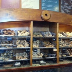 Photo taken at Burlington Bagel Bakery & Cafe by Jim L. on 10/27/2012