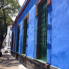 Photo taken at Museo Frida Kahlo by Laura G. on 4/10/2013