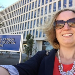 Photo taken at Lyndon Baines Johnson Department of Education Building by Heather H. on 3/12/2015