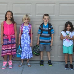Photo taken at Kooser Elementary School by Jessica C. on 8/12/2015