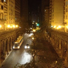 Photo taken at Viaduto Otávio Rocha (Viaduto da Borges) by Aleco M. on 9/10/2013