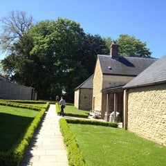 Photo taken at Babington House by Mat M. on 6/4/2013