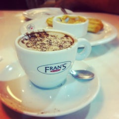 Photo taken at Fran's Café by FranHaydin on 3/24/2013
