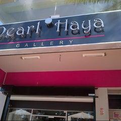 Photo taken at Pearl Haya Gallery by Azrina Zulfikar on 2/12/2013