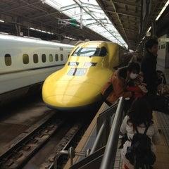 Photo taken at JR新大阪駅 21-22番ホーム by Satoshi K. on 2/6/2013
