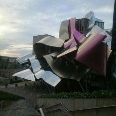 Photo taken at Hotel Marqués de Riscal by NOBU 7. on 4/8/2015