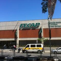 Photo taken at Fundação Escola de Comércio Álvares Penteado  (FECAP) by Daniel R. on 9/29/2012