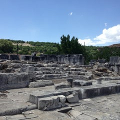 Photo taken at Stratonikeia by selin ö. on 5/26/2013