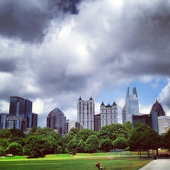 Photo taken at Piedmont Park by Will O. on 5/31/2013