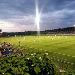 Photo taken at Maryland SoccerPlex by Evan M. on 5/12/2013