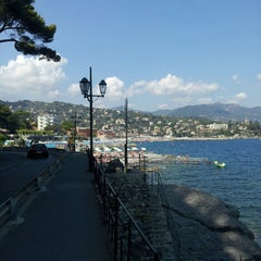 Photo taken at Lungomare di Santa Margherita Ligure by Stefano P. on 8/24/2013