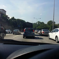 Photo taken at East-West Link Expressway by daniel f. on 5/6/2014