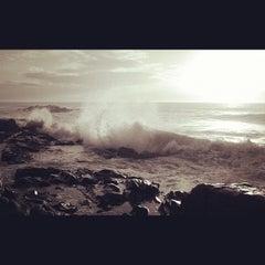 Photo taken at Pantai Batu Buruk by fifie n. on 12/19/2012