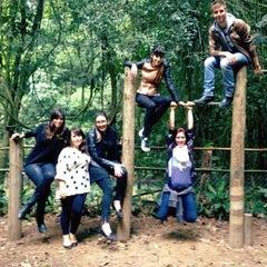 Photo taken at Parque Alfredo Volpi by Bruna C. on 5/18/2013