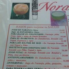 Photo taken at Restaurante Nora by Grecia W. on 12/27/2014