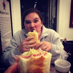 Photo taken at Beezer's Gourmet Sandwich Shop by Rachel J. on 2/7/2014