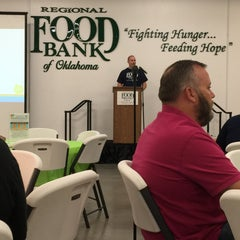 Photo taken at Regional Food Bank of Oklahoma by Heather C. on 9/30/2015