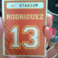 Photo taken at Nike Stadium by Cheche R. on 7/6/2013