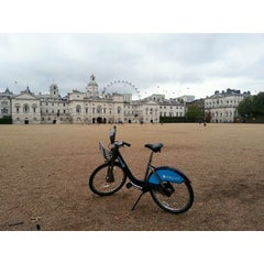 Photo taken at London 2012 Horse Guards Parade by Борис К. on 10/12/2014