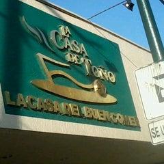 Photo taken at La Casa de Toño by Ixel V. on 3/4/2013
