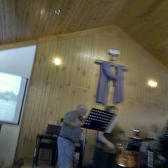 Photo taken at Five Forks Church by Matthew K. on 11/4/2012