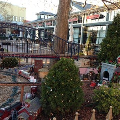 Photo taken at Town Square Fountain by Michelle on 11/17/2012