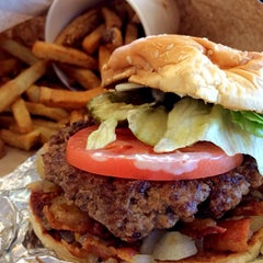 Photo taken at Five Guys by Mark W. on 1/9/2014