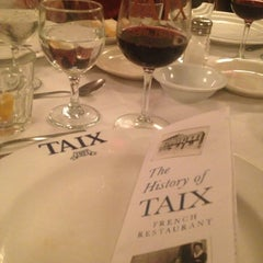 Photo taken at TAIX French Restaurant by Dena Y. on 7/31/2013