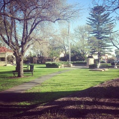 Photo taken at Unley Soldier's Memorial Gardens by Lachlan C. on 8/26/2013