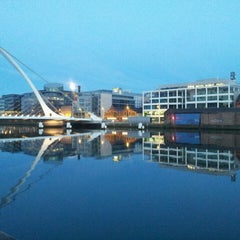 Photo taken at The River Liffey by Michael K. on 5/24/2013