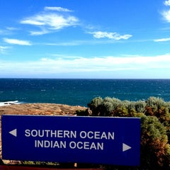 Photo taken at Cape Leeuwin Lighthouse by hiromi t. on 3/9/2013
