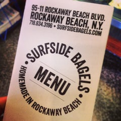 Photo taken at Surfside Bagels by Matt G. on 3/2/2013