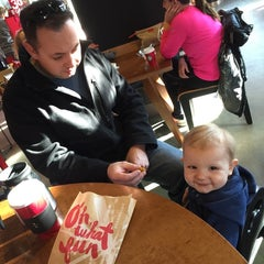 Photo taken at Starbucks by Andrea T. on 11/15/2014