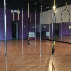 Photo taken at Gravity Pole Fitness by Cynthia M. on 9/22/2015