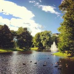 Photo taken at Kronvalda parks by Anny S. on 7/24/2013